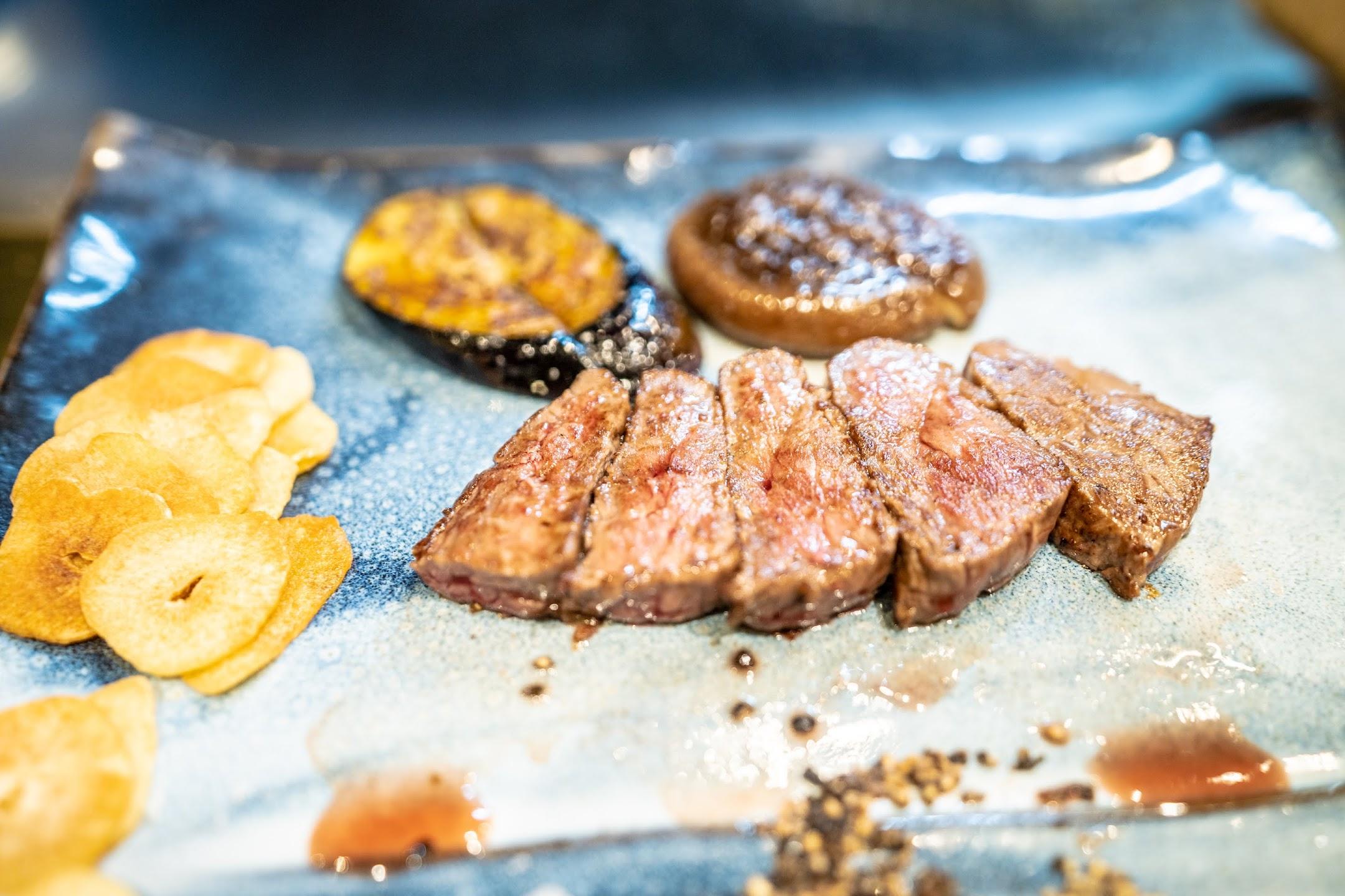 Kobe beef steak Mouriya3
