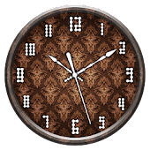 Brown Clock Live Wallpaper