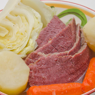 Traditional Corned Beef and Cabbage (a.k.a. New England Boiled Dinner).