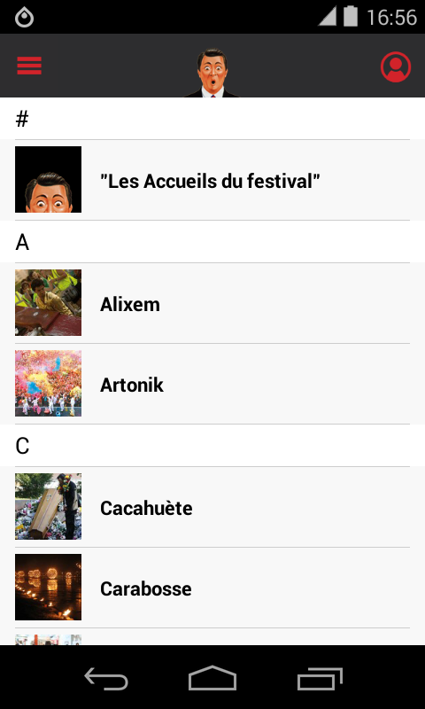 Festival Aurillac- screenshot
