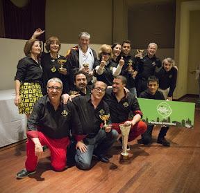 Dolly Arteche Casas y Chusa López Carrasco, Campeones del VII Copa Amou por Equipos