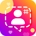 Get Real followers & Likes for InsPhoto Caption icon