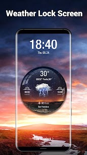 Weather Widget with Alarm Clock 7