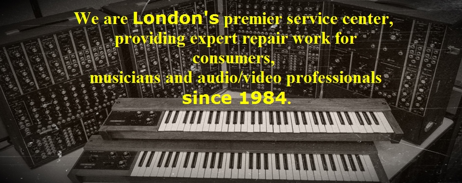 Audio/ Visual Equipment Repairs In Central London