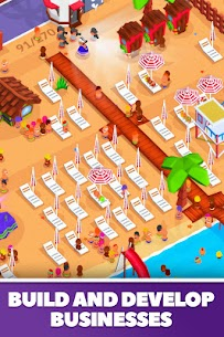 Idle Beach Tycoon Mod Apk (Unlimited Crystals) 2