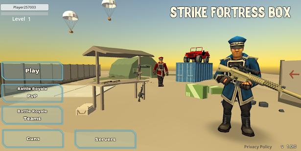 Strike Fortress Box: Battle Royale