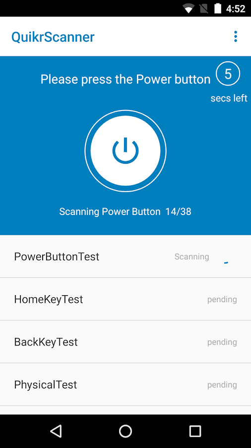 QuikrScanner for Mobiles- screenshot
