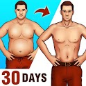 Lose Belly Fat for Men - Lose Weight Home Workouts icon