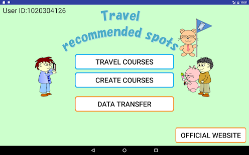 Travel recommended spots- screenshot thumbnail