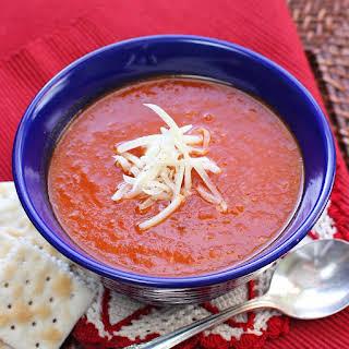 Winter Tomato Soup.