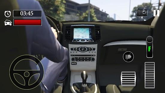 Car Parking Infiniti FX50S Simulator - náhled