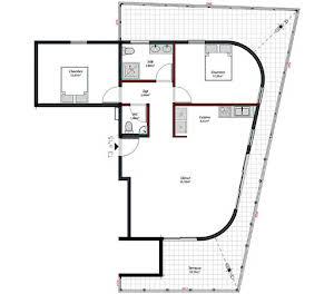Appartement 3 pièces 80,1 m2