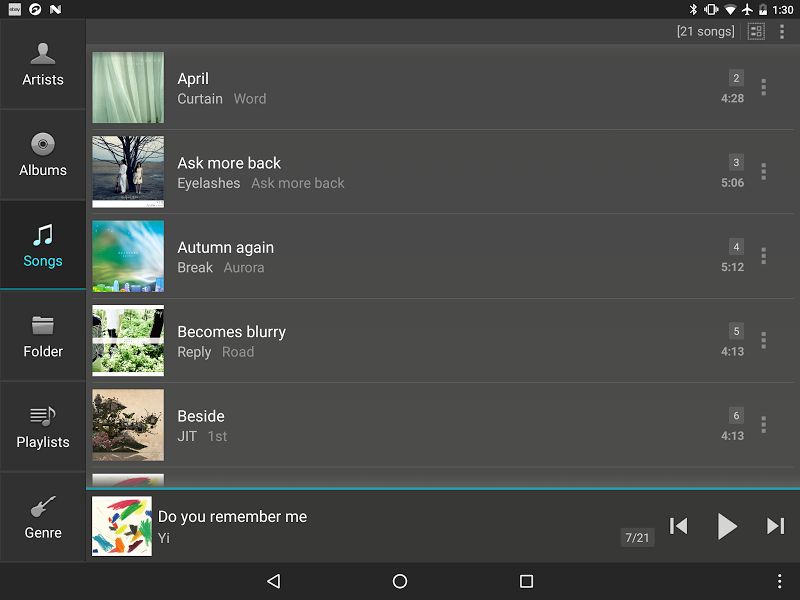 jetAudio HD Music Player Plus Screenshot 8