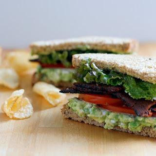 BLTA Sandwich.