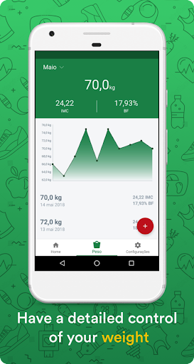 Calorie counter - calorie monitor & weight monitor Preview 2