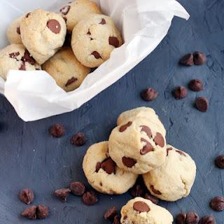 Dark Chocolate Almond Protein Cookies.
