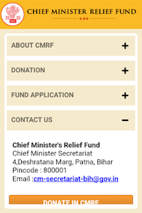 Chief Minister Relief Fund