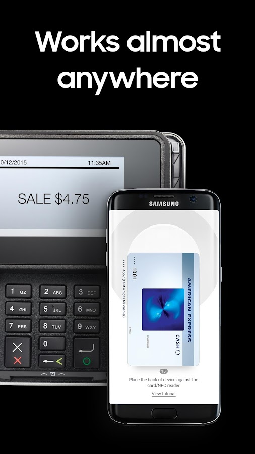 Samsung Pay- screenshot