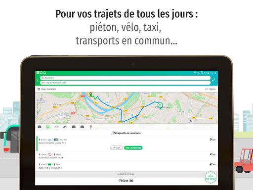 Mappy u2013 Plan, Comparateur du2019itinu00e9raires, GPS  screenshots 10