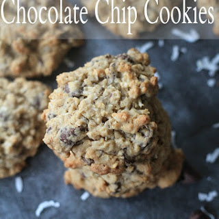 Coconut Oatmeal Chocolate Chip Cookies.