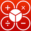 Fraction calculator icon