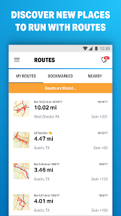 Run with Map My Run- screenshot thumbnail