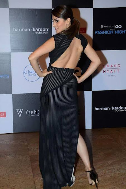 Taapsee Pannu sexy back, Taapsee Pannu backless, Taapsee Pannu feet, Taapsee Pannu high heels, Taapsee Pannu in black