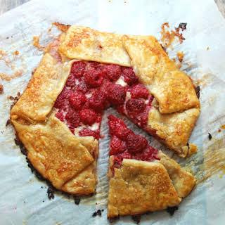 Raspberry & Marmalade Cream Galette.