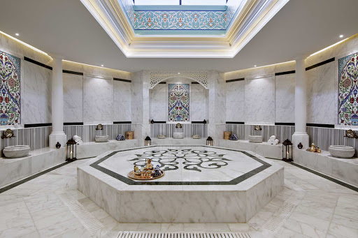 Book a day at the luxurious Antara Spa while in port in Dubai.