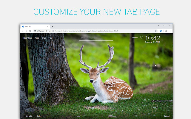 Deer Wallpapers Deers New Tab - freeaddon.com