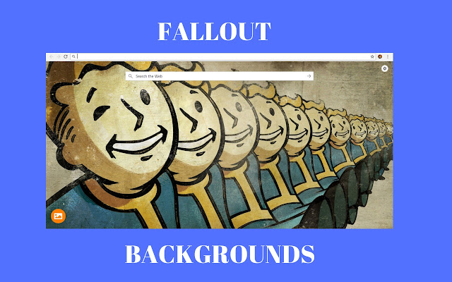Fallout HD backgrounds - New Tab