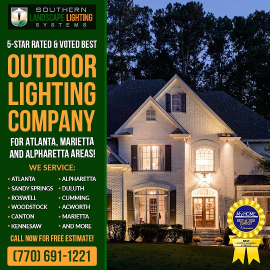 Landscape Lighting Systems in Alpharetta