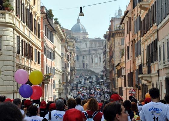 Roma  Stracittadina di pizia1966