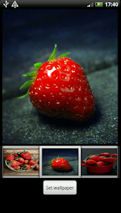 Strawberry HD Wallpaper - náhled