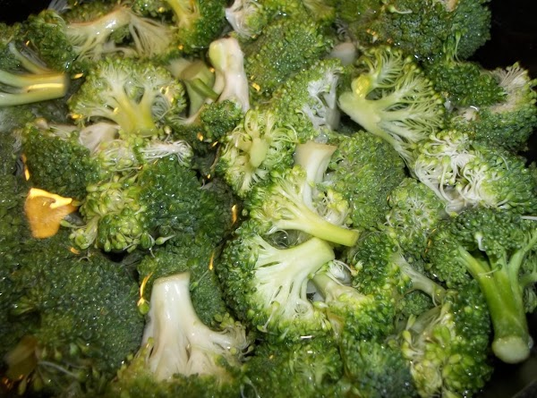 Prepare the broccoli, either steam or boil; for just a few minutes. DO NOT...