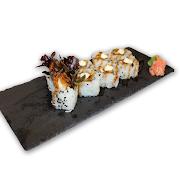 92. Chicken Katsu & Lettuce Sushi Roll