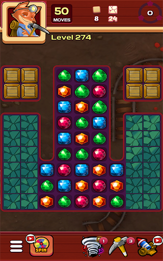 Jewels Crush 2019 - new Puzzle Matching Adventure - screenshot