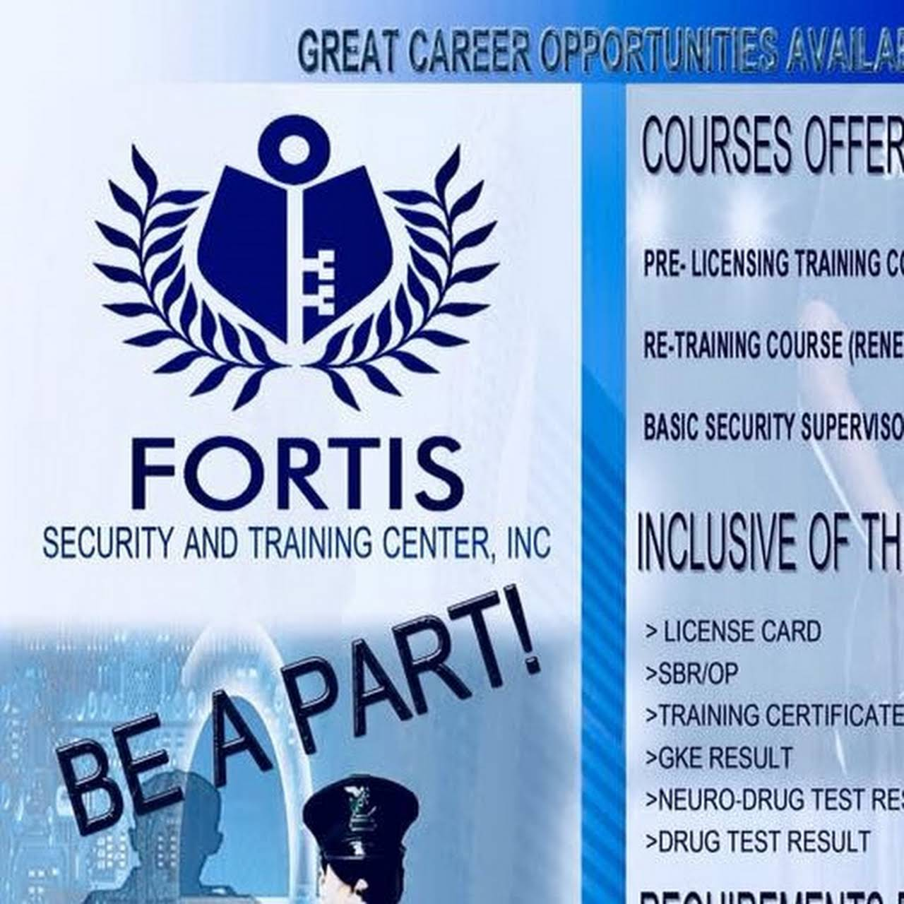Fortis Security and Training Center Inc  - School in Pulung Maragul