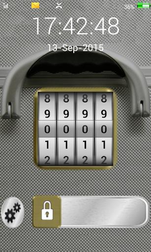 screen lock code briefcase