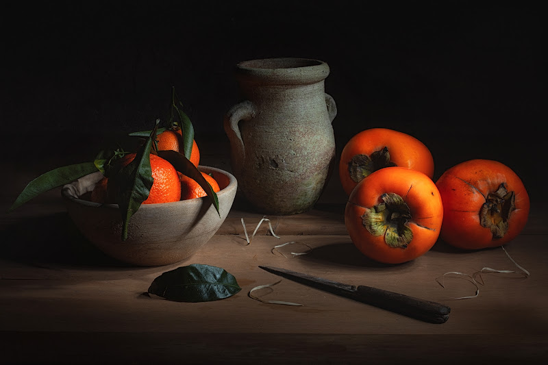 Natura morta in arancione di Barbara Surimi