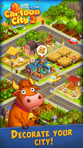 Cartoon City 2:Farm to Town.Build your home,house 1.78 screenshots 23