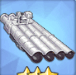533mm四連装魚雷T2