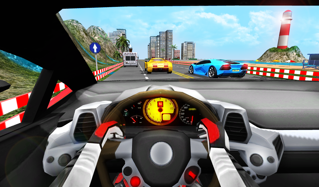 racing in car turbo android apps on google play. Black Bedroom Furniture Sets. Home Design Ideas