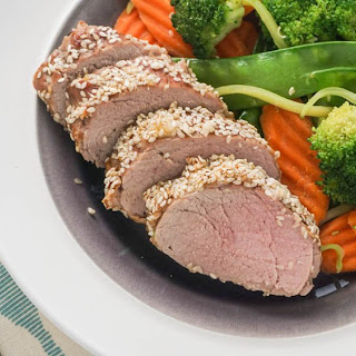 Honey Sesame Pork Tenderloin