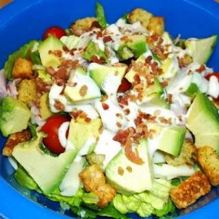 Ham & Avocado Chef Salad.