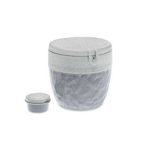 CLUB Bento Box / Lunch box, Organic Grey