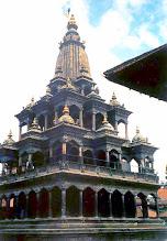 Photo: Patan - świątynia Kriszna Mandir / Krishna Mandir temple