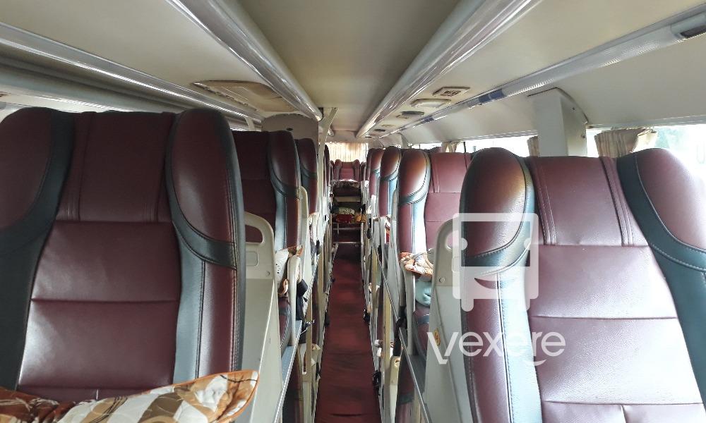 Nội thất xe Thuận Ý đi Gia Lai từ Sài Gòn