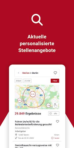 Jobsuche – die neue JOBBÖRSE 2.6.0 screenshots 3