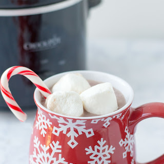 Easy Slow Cooker Hot Chocolate! (Adult & Kid-friendly versions).